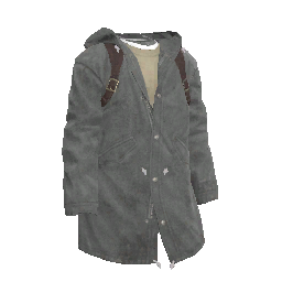 Foggy Grey Parka