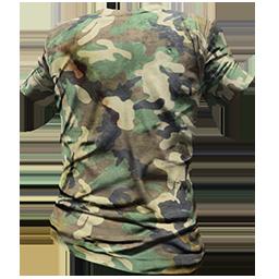 Skin: Forest Camo T-Shirt