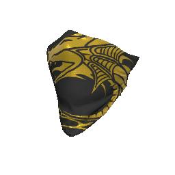 Skin: Golden Dragon Face Bandana