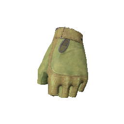 Skin: Green Gloves