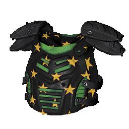 Skin: Green Starred Armor
