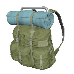 Skin: Green Survivor Backpack