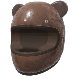 Grizzly Bear Helmet