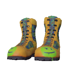 Skin: Happy Face Boots