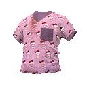 Skin: Happy Skull Scrubs Shirt