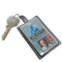 Locker Key F3 - 591