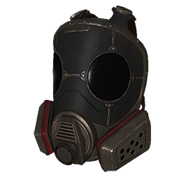 Skin: Metal Full Face Respirator