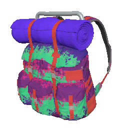 Skin: Neon Splatter Survivor Backpack
