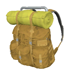 Skin: Orange Survivor Backpack