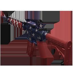 Skin: Patriotic AR-15