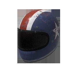 Skin: Patriotic Motorcycle Helmet
