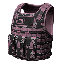 Skin: Pink Skull Body Armor