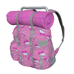 Skin: Pink Skulls Survivor Backpack