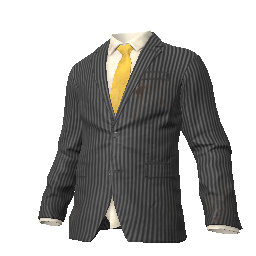 Skin: Pinstripe Suit Jacket