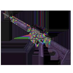 Skin: Rainbow Swirl AR-15
