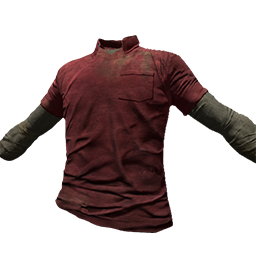 Skin: Red Polo Shirt