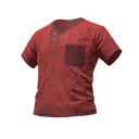 Skin: Red Scrubs Shirt