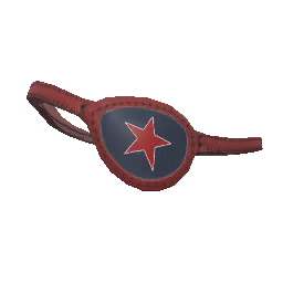 Skin: Red Star Eyepatch