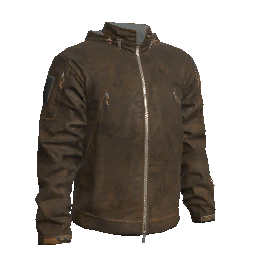 Rustic Leather Tactical Jacket