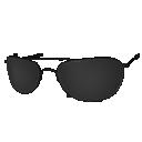 Skin: Silver Metal Frame Sunglasses