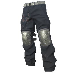 Skin: Silver Padded Pants