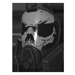 Skin: Skull Full Face Respirator