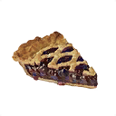 Slice of Blackberry Pie