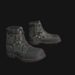 Snakeskin Work Boots
