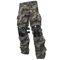 Skin: Sniper Camo Padded Pants