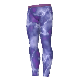 Skin: Stormcloud Leggings