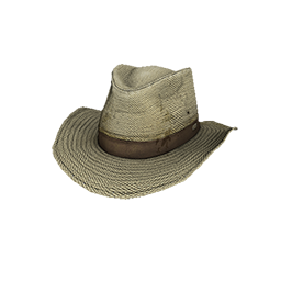 Skin: Tan Canvas Outback Hat