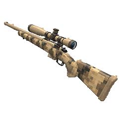 Skin: Tan Digital Camo Hunting Rifle