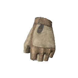 Skin: Tan Gloves