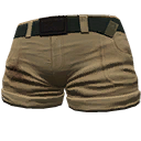 Skin: Tan Shorts