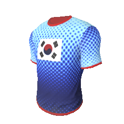 Skin: Team Korea T-Shirt