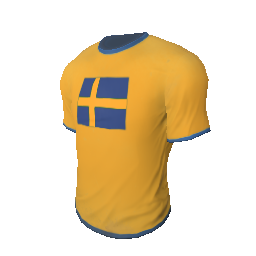 Skin: Team Sweden T-Shirt