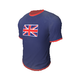 Skin: Team UK T-Shirt