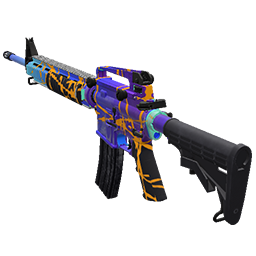 Skin: Wildstyle AR-15