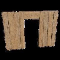 3x4 Wall Door 02
