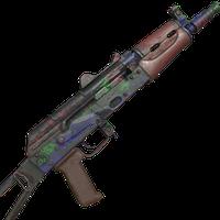 AK74U Paint Splatter Skin