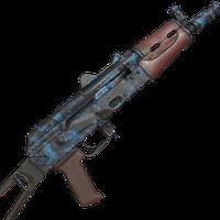 AK74U Retro Blue Skin