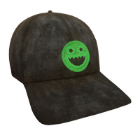 Black Polycount Flex Cap