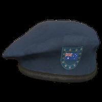 Blue AU Military Beret