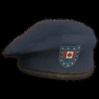 Blue CA Military Beret