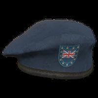 Blue UK Military Beret