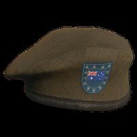 Brown AU Military Beret