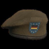 Brown DE Military Beret