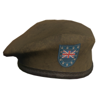 Brown UK Military Beret