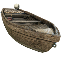Fishing Boat Desert Skin