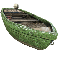 Fishing Boat Green Skin